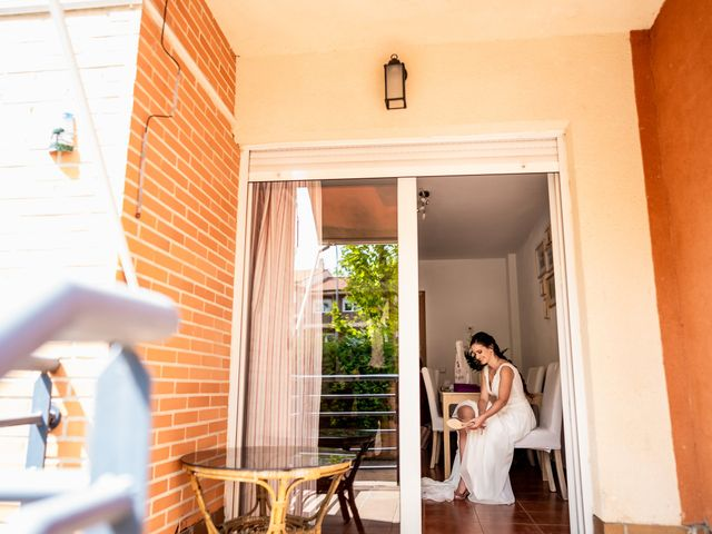 La boda de Marco y Virginia en Lupiana, Guadalajara 16