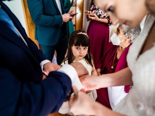 La boda de Marco y Virginia en Lupiana, Guadalajara 17