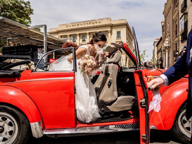 La boda de Marco y Virginia en Lupiana, Guadalajara 22