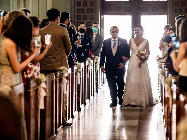 La boda de Marco y Virginia en Lupiana, Guadalajara 24