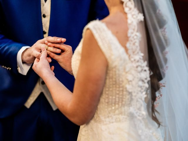 La boda de Marco y Virginia en Lupiana, Guadalajara 35