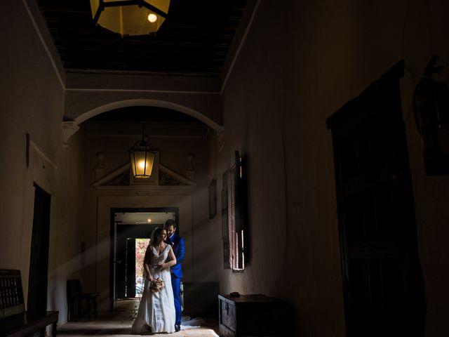 La boda de Marco y Virginia en Lupiana, Guadalajara 47