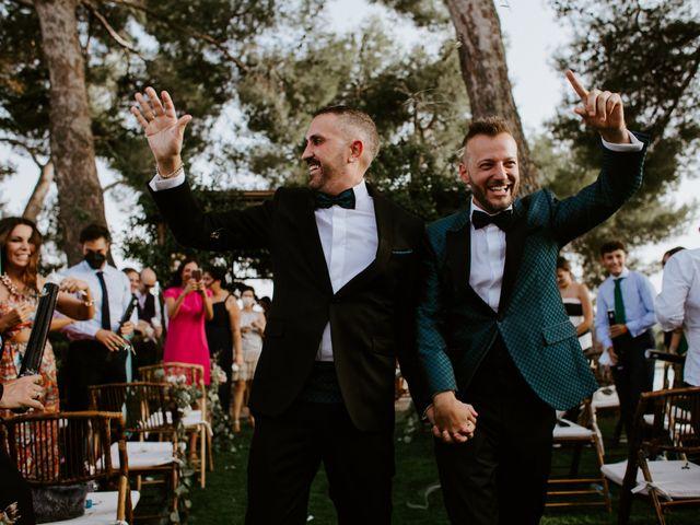 La boda de Arturo y Fernando en Aranjuez, Madrid 50