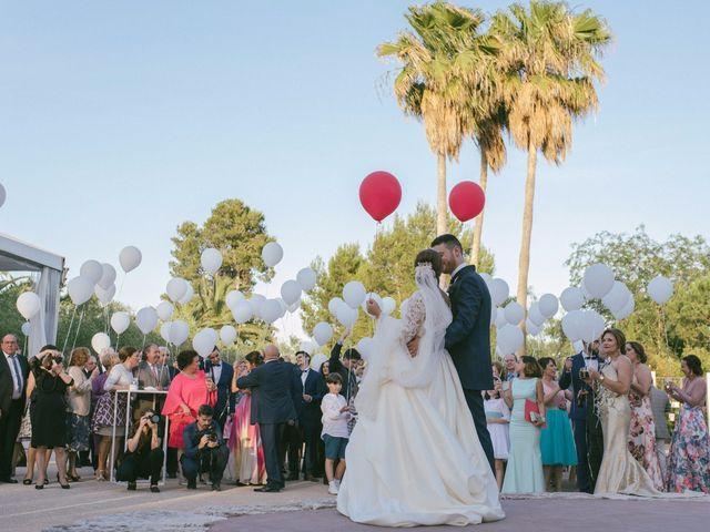 La boda de Sergio y Nuria en Alberic, Valencia 56