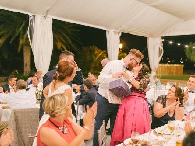 La boda de Sergio y Nuria en Alberic, Valencia 78