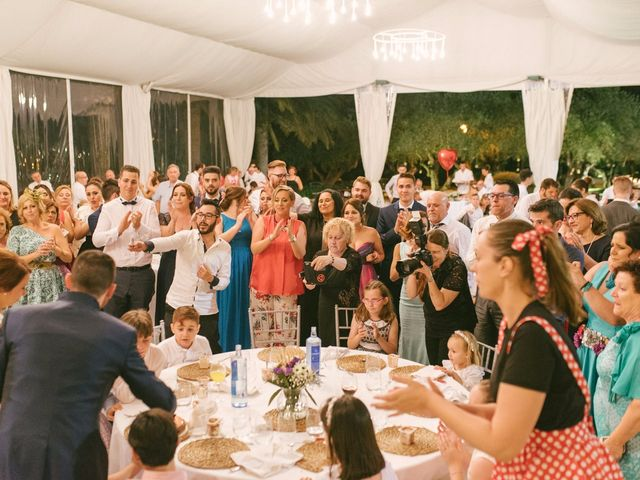 La boda de Sergio y Nuria en Alberic, Valencia 90