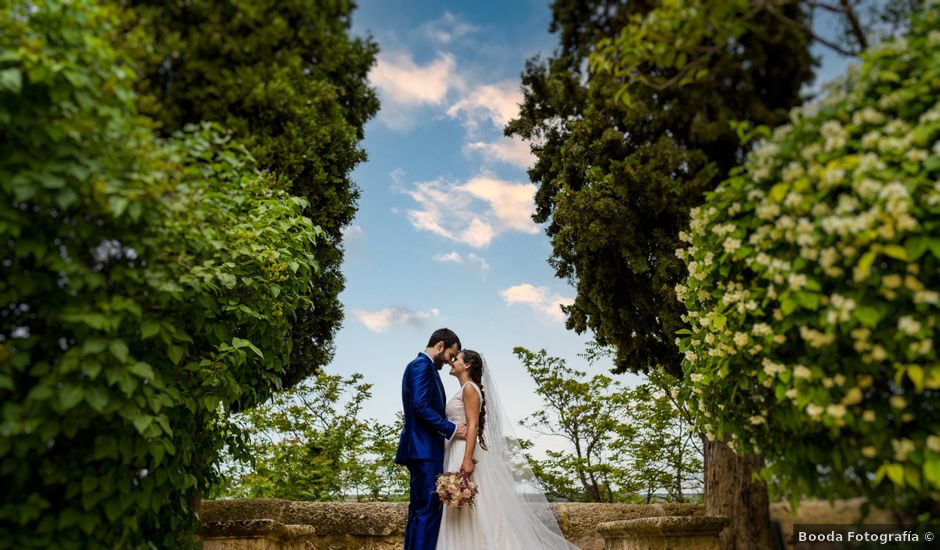 La boda de Marco y Virginia en Lupiana, Guadalajara