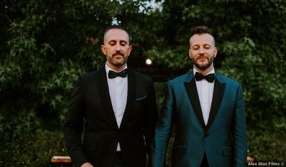 La boda de Arturo y Fernando en Aranjuez, Madrid