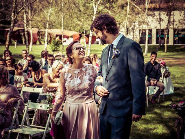 La boda de David y Cristina en Santa Coloma De Farners, Girona 16