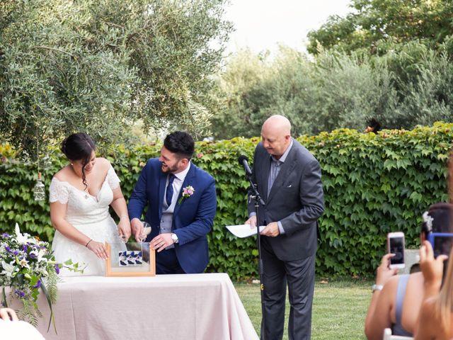 La boda de Fran y Roser en La Selva Del Camp, Tarragona 15