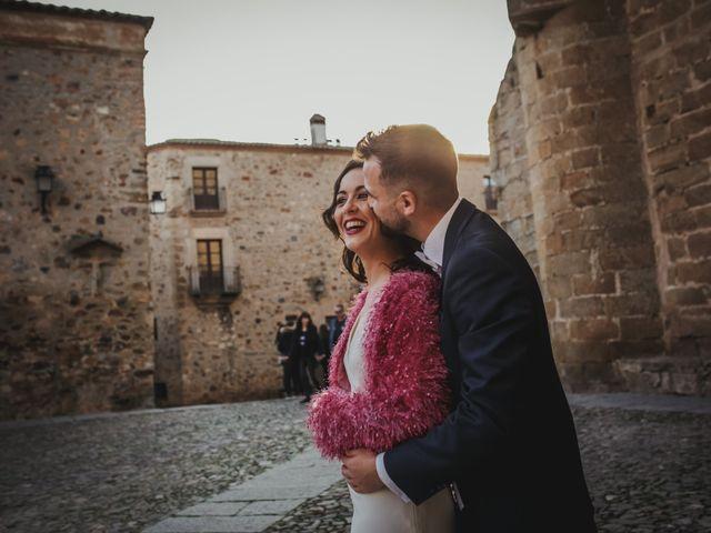 La boda de Alberto y Lorena en Cáceres, Cáceres 77