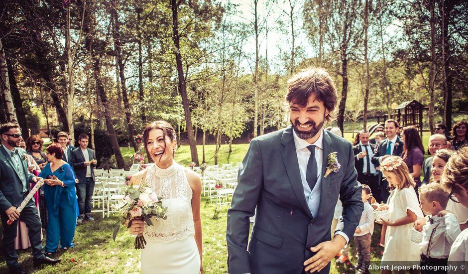 La boda de David y Cristina en Santa Coloma De Farners, Girona