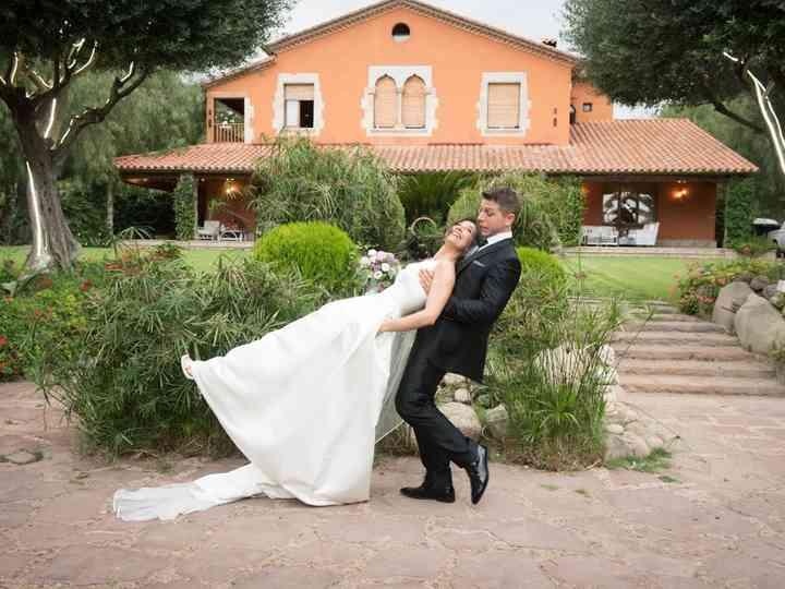 La boda de Meritxell y Edgar