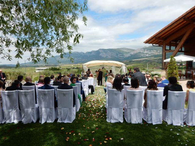 La boda de Sergio y Davinia en Laguardia, Álava 3