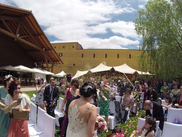La boda de Sergio y Davinia en Laguardia, Álava 1