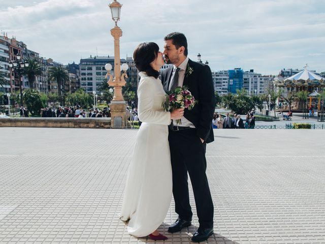 La boda de Olatz y Santi