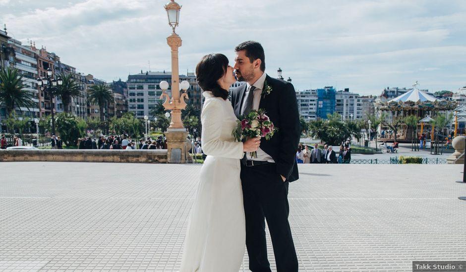 La boda de Santi y Olatz en Donostia-San Sebastián, Guipúzcoa