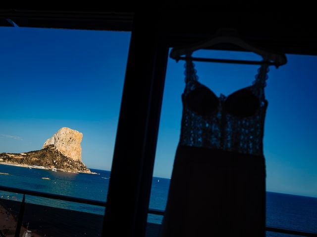 La boda de Juan Alberto y Irene en Calp/calpe, Alicante 8