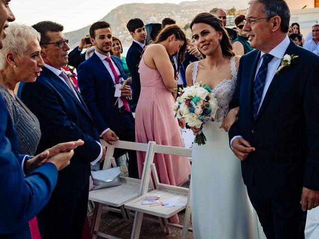 La boda de Juan Alberto y Irene en Calp/calpe, Alicante 14