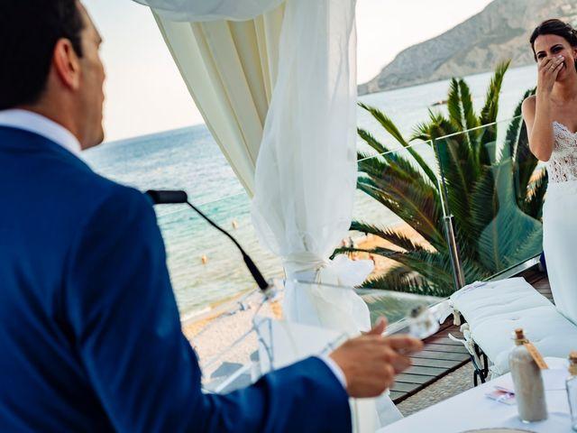 La boda de Juan Alberto y Irene en Calp/calpe, Alicante 16