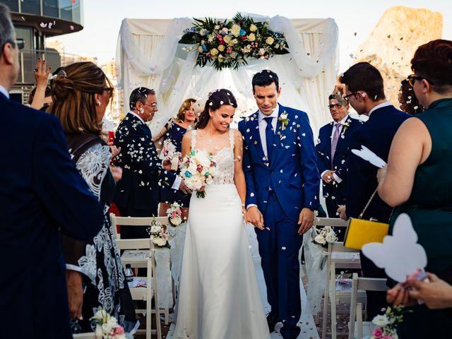 La boda de Juan Alberto y Irene en Calp/calpe, Alicante 18
