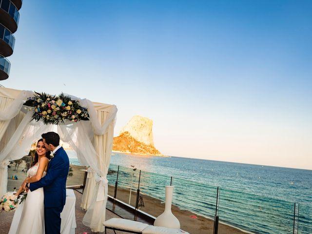 La boda de Juan Alberto y Irene en Calp/calpe, Alicante 19