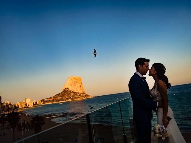 La boda de Juan Alberto y Irene en Calp/calpe, Alicante 20