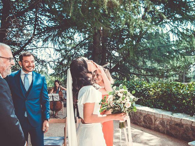 La boda de Alberto y Sara en San Lorenzo De El Escorial, Madrid 54