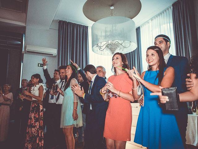 La boda de Alberto y Sara en San Lorenzo De El Escorial, Madrid 100