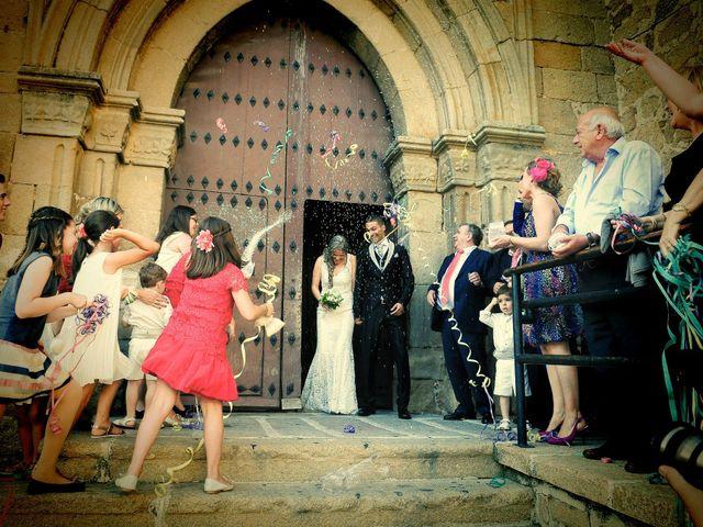 La boda de Jimmy y Elena en Valdastillas, Cáceres 36