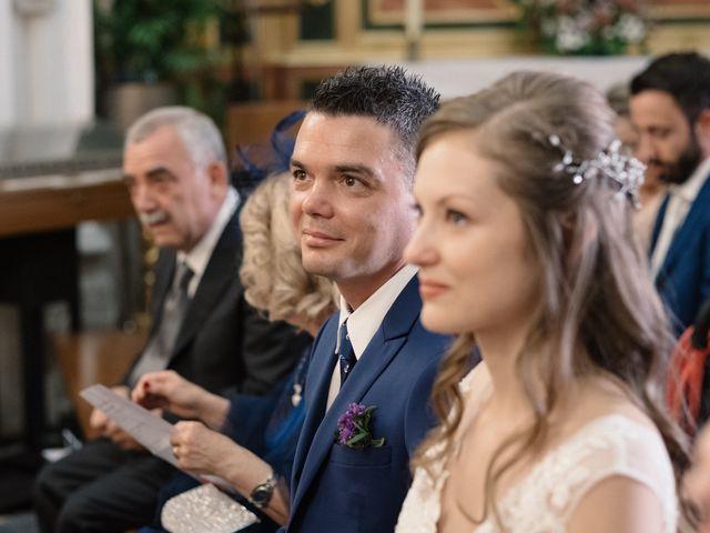 La boda de Vincenzo y Anna en San Agustin De Guadalix, Madrid 42