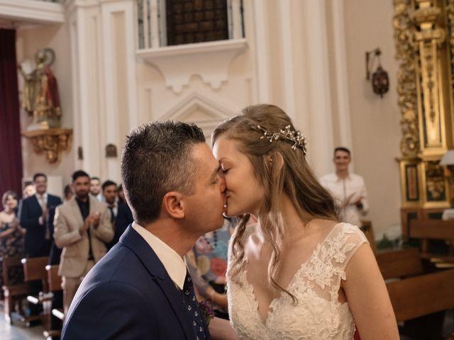 La boda de Vincenzo y Anna en San Agustin De Guadalix, Madrid 45