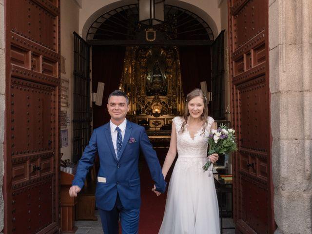 La boda de Vincenzo y Anna en San Agustin De Guadalix, Madrid 48