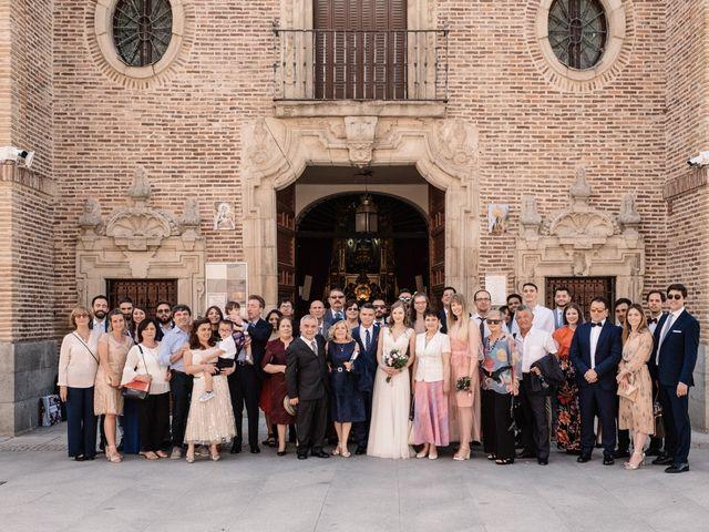 La boda de Vincenzo y Anna en San Agustin De Guadalix, Madrid 50