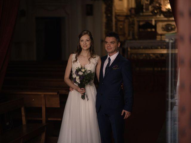 La boda de Vincenzo y Anna en San Agustin De Guadalix, Madrid 51