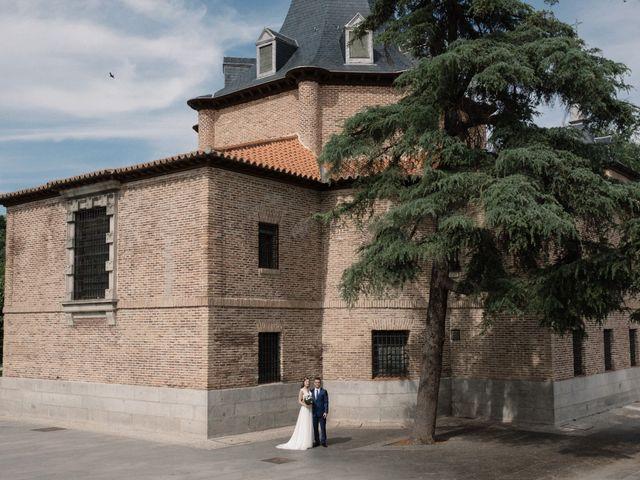 La boda de Vincenzo y Anna en San Agustin De Guadalix, Madrid 53