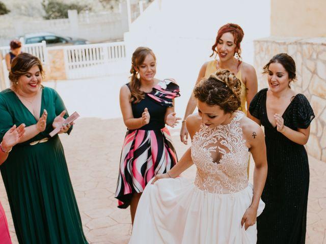 La boda de Adrián y Melody en Vila-real/villarreal, Castellón 23