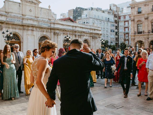 La boda de Adrián y Melody en Vila-real/villarreal, Castellón 60
