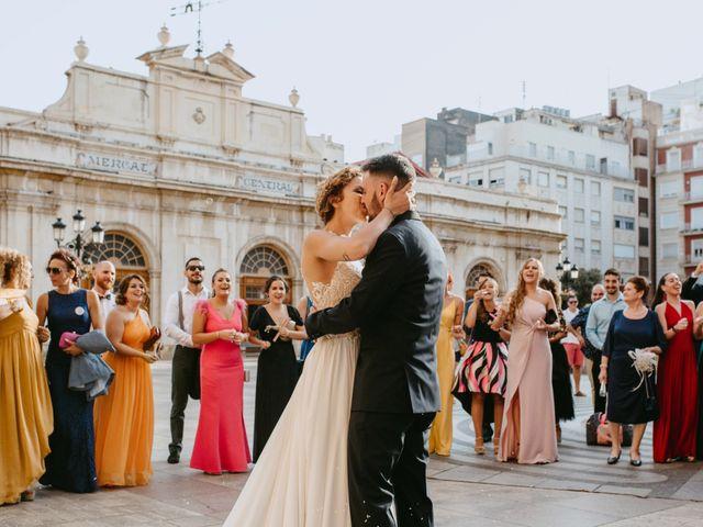 La boda de Adrián y Melody en Vila-real/villarreal, Castellón 1