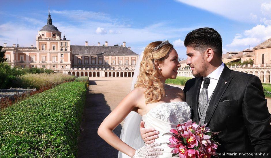 La boda de Jonathan y Jessica en Aranjuez, Madrid