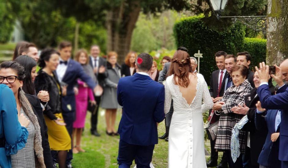 La boda de Tavo y Maite en Nigran, Pontevedra