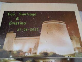 La boda de Cristina  y Francisco Santiago 1