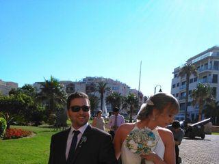 La boda de Cristina  y Francisco Santiago