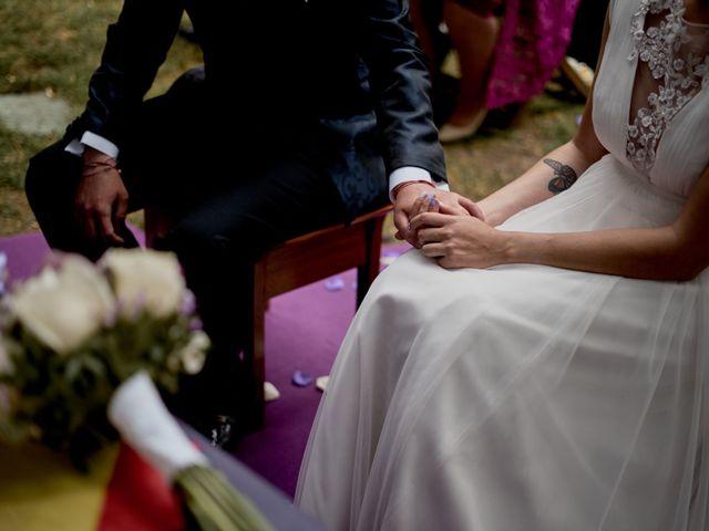 La boda de Miguel y Laura en La Cabrera, Burgos 34