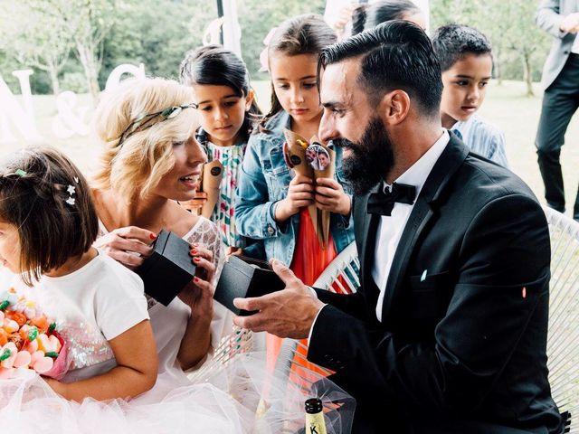 La boda de Gon y Nere en Hernani, Guipúzcoa 154