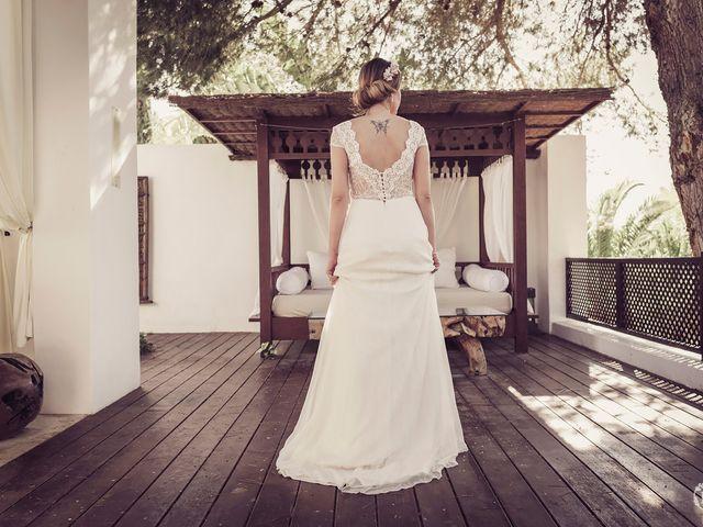 La boda de Guille y Sandra en Eivissa, Islas Baleares 40