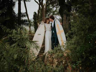 La boda de Olivia y Pitus