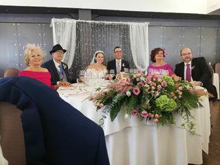 La boda de María Paz y David