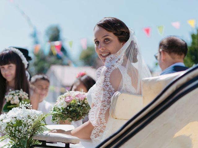 La boda de Ruben y Yenia en Vilarnaz, Orense 1