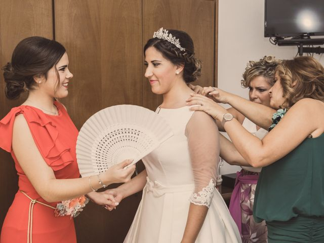 La boda de Isaac y Beatriz en Saelices, Cuenca 11